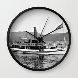 Vintage Mohican Steamboat Wall Clock