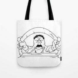 Road rager Tote Bag
