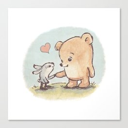 Brommel & Dee - Friends Forever Canvas Print