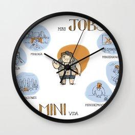 Minijobs (Spanish version) Wall Clock