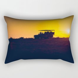 Morning African Safari Rectangular Pillow