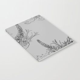 BOUQUET -pattern Notebook