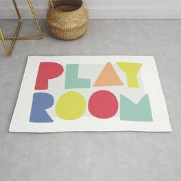 Play Room colorful kids art Rug