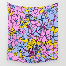 Flowers for You Wall Tapestry