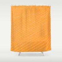 dune Shower Curtains featuring Dune Ripples by Scott Aichner