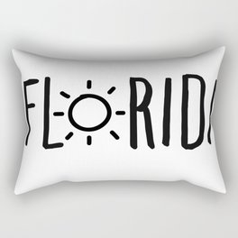 Florida Sun Rectangular Pillow