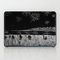 fireworks iPad Cases featuring Fireworks by Mr.Willow