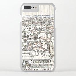 Austria - sketchy Vienna 1 Clear iPhone Case