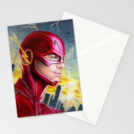 Barry Allan-THE FLASH Stationery Cards