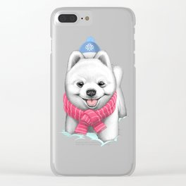 Winter Spitz Clear iPhone Case