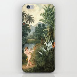 Cupid : New Illustration Of The Sexual System iPhone Skin