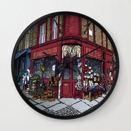 British Shop Wall Clock
