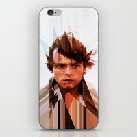 luke hemmings iPhone & iPod Skins featuring Luke by Tom Johnson
