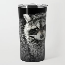 A Gentle Raccoon Travel Mug