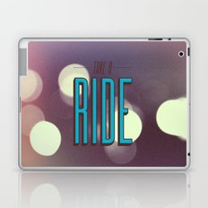 Take A Ride Laptop & iPad Skin