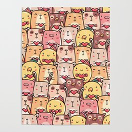 Sweet Pets Poster