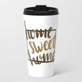 Home Sweet Home-Wyoming Travel Mug