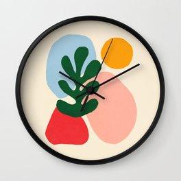 Wildlife | Cutouts by Henri Matisse Wall Clock