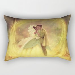 You Just Kissed Yourself a Princess Rectangular Pillow