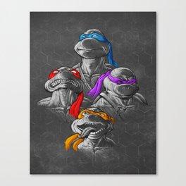 THE BROTHERHOOD - B&W Canvas Print