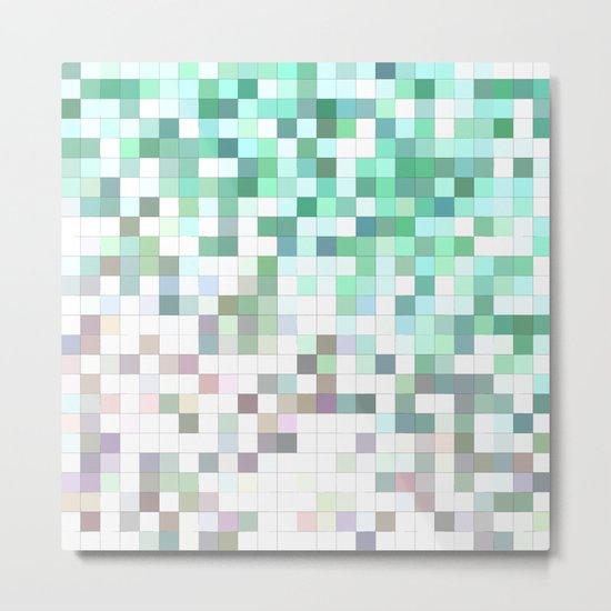 Light bathroom mosaic Metal Print