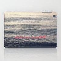 hakuna iPad Cases featuring Hakuna Matata by Christine Hall