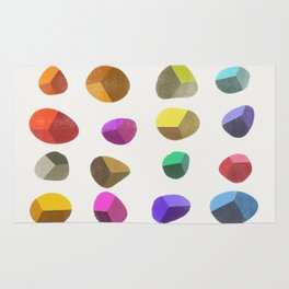 Painted Pebbles 2 Rug