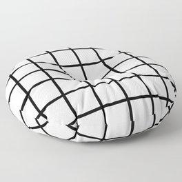 Grids Floor Pillow
