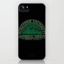 Miskatonic Historical Society iPhone Case