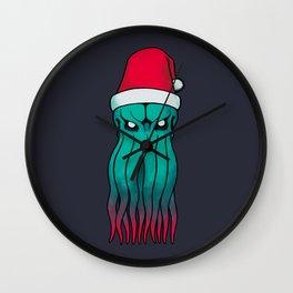 Cosmic Santa Wall Clock