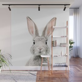 Bunny face Wall Mural