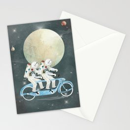 space tandem Stationery Cards