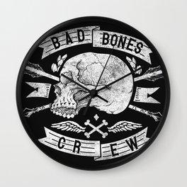 Skull symbol Wall Clock