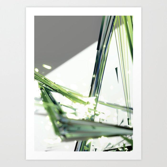Untamed Ricochet Art Print