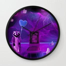 I need Love not Likes Wall Clock