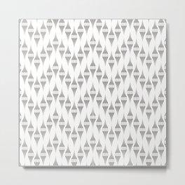 Art Deco  № 45 .Openwork zigzag Metal Print