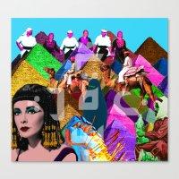 arab Canvas Prints featuring Arab world by Bothayna Al Zaman