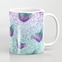 Mermaid Butterfly Glitter Dream #1 #shiny #decor #art #society6 Coffee Mug
