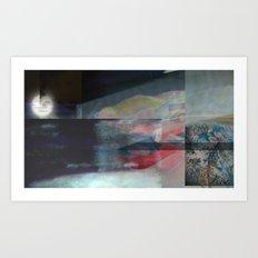 Filmed Art Print
