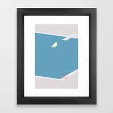 UDSPRING Framed Art Print