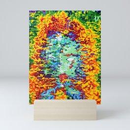 Depressive Doppler Deluge Mini Art Print