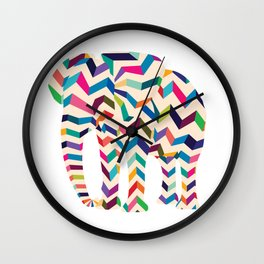 Elephant in the room Wall Clock