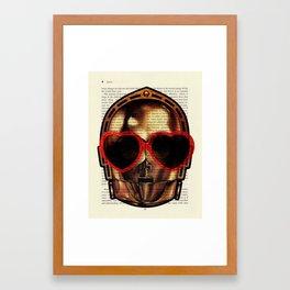 Star Wars C-3PO Fretful Protocol Droid Framed Art Print