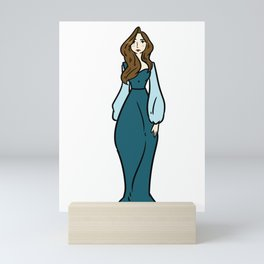 brother sister gift bride family wedding Mini Art Print