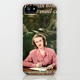 Be with him iPhone Case