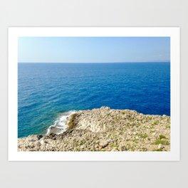 Bunker Sea View Art Print