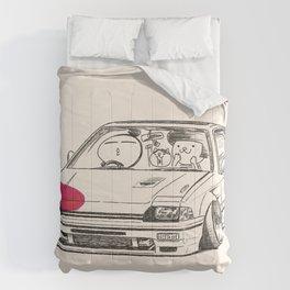 Crazy Car Art 0165 Comforters