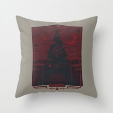 Mount Death Throw Pillow