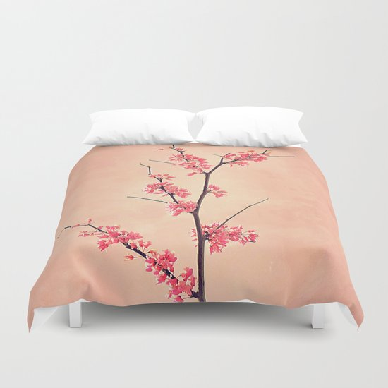 The Passion of Pink Duvet Cover