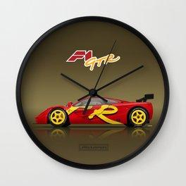 1996 McLaren F1 GTR #10R - Presentation Wall Clock